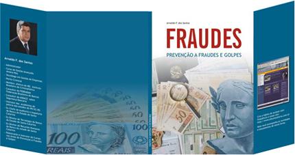 Capa e diagramação do livro Fraudes